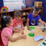 Summer Campers enjoyed the fun filled activities